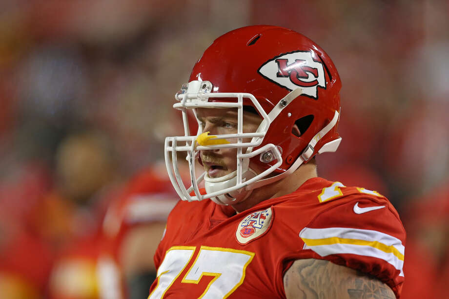 Former Midland High standout Andrew Wylie recently received the Mack Lee Hill Award as the Kansas City Chiefs' top first-year player. Photo: Getty Images
