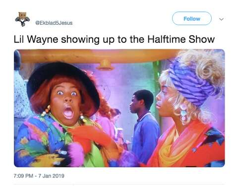 9a8ba18ce455 <p>Imagine Dragons and Lil Wayne's halftime performance was not  well-received on