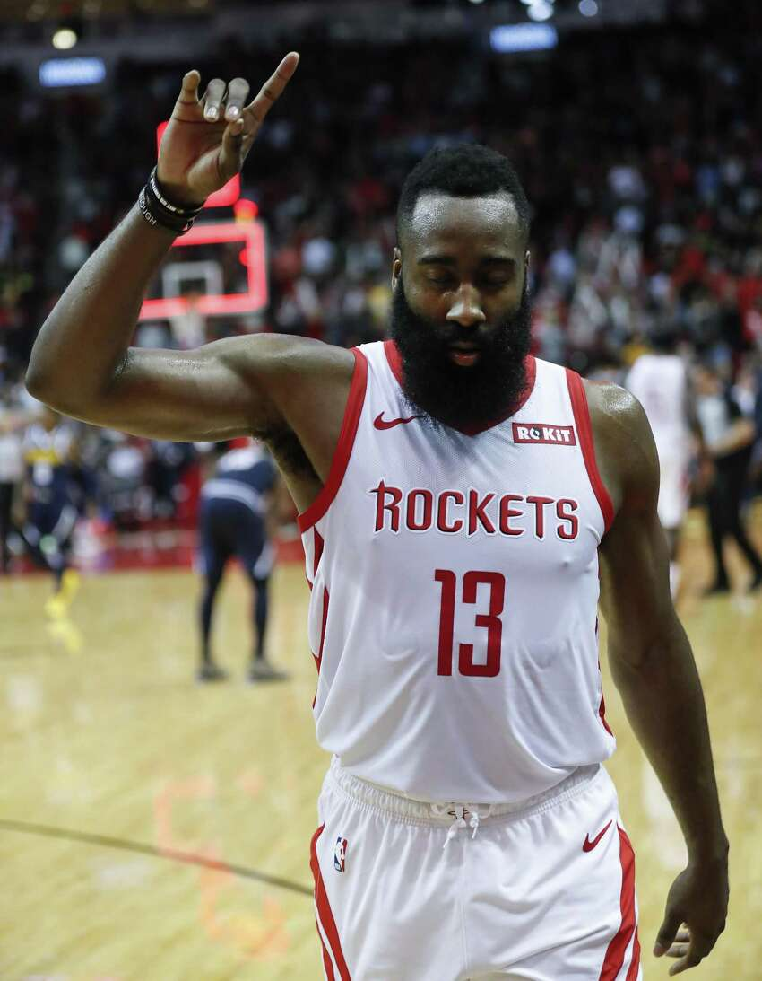James Harden has become a more vocal leader.