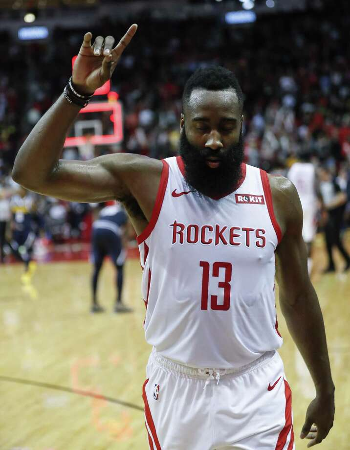 James Harden has become a more vocal leader. Photo: Brett Coomer, Houston Chronicle / Staff Photographer / © 2019 Houston Chronicle