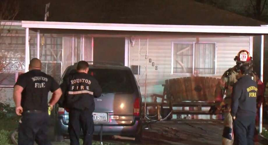 Firefighters extinguished a house fire at Redfern and Westover on Tuesday, Jan. 8, 2019. Photo: Metro Video