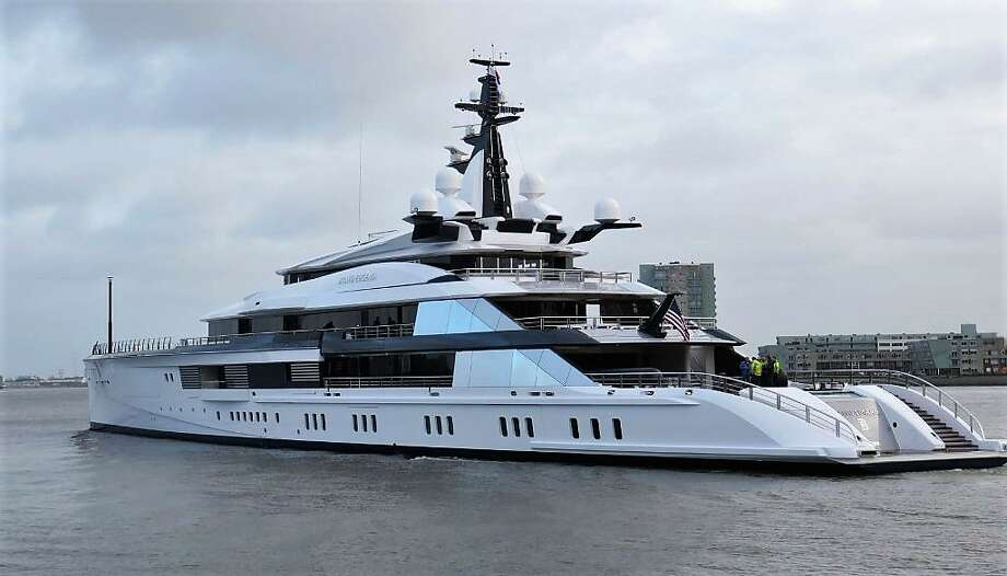 Bravo Eugenia yacht owned by Jerry Jones Photo: Dutch Yachting