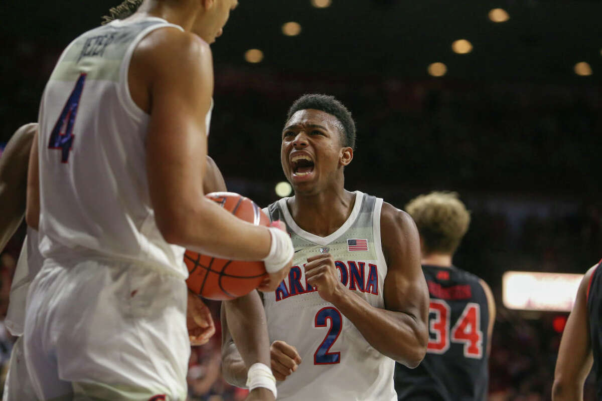 2. Arizona Wildcats (11-4, 2-0 Pac-12) Despite the turmoil that comes with having your program under the scrutiny of the FBI, the Wildcats have had a fairly strong start to the season. Two of their losses came against No. 5 Gonzaga and No. 11 Auburn, both of which are hardly terrible games to drop. Their other two losses against an unranked duo of Alabama and Baylor, on the other hand, sting. Since those two defeats, they've won four straight - including a pair of Pac-12 victories over Utah and Colorado. With Brandon Rudolph, Chase Jeter and Brandon Williams each averaging more than 10 PPG and under two turnovers per contest, the Wildcats could be a handful for conference opponents.