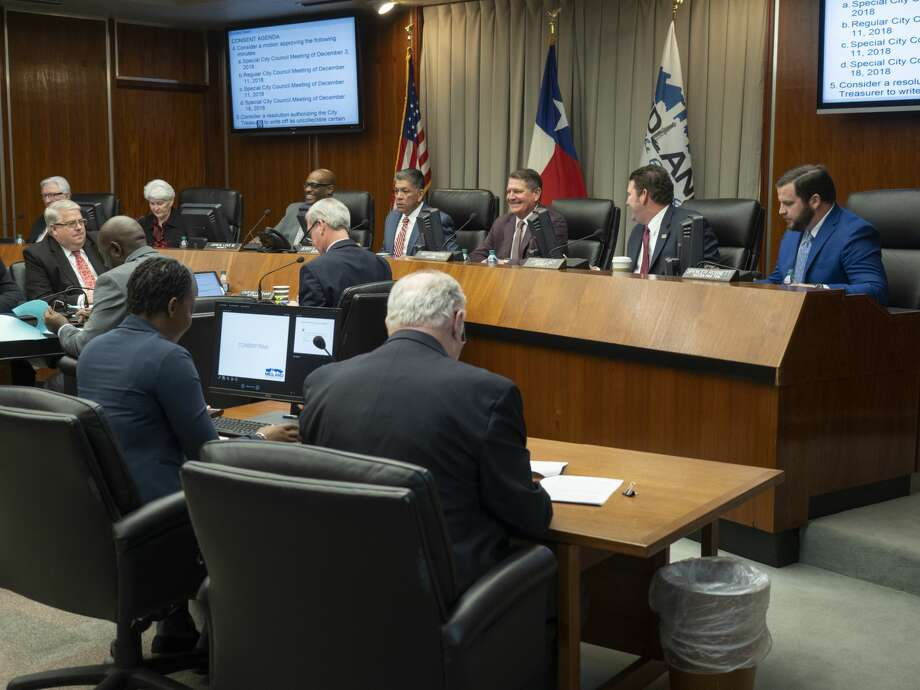 The Midland City Council voted Tuesday to establish water, wastewater and roadway impact fees to help pay for projects related to future growth.  Photo: Tim Fischer/Midland Reporter-Telegram