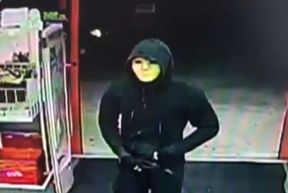 Pasadena Police are asking for the public's help in identifying the two masked men that robbed Pasadena area pharmacy stores Jan. 4. Photo: Pasadena Police Department