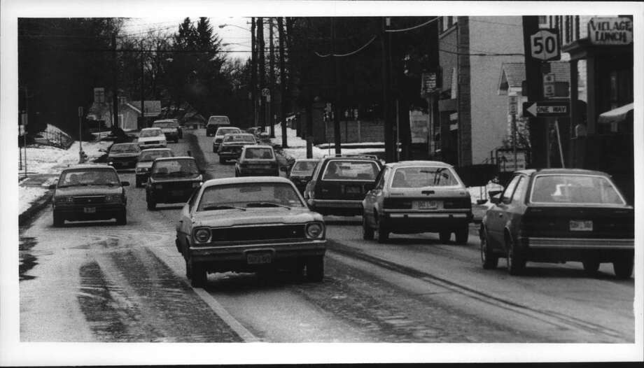 Click through the slideshow of Scotia through the years from the Times Union archives. Scotia, New York - traffic on Route 50 looking north near intersection of Route 5. January 12, 1990 (Roberta Smith/Times Union Archive) Photo: Roberta Smith, Times Union Historic Images / Times Union