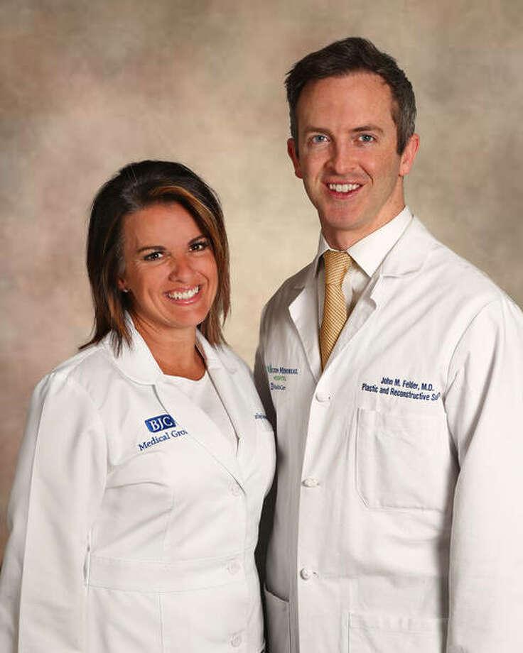 Dr. John Felder and Lorilee Sebesta, FNP-C