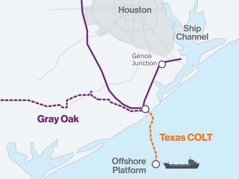 Joint venture proposes offshore oil terminal south of Freeport