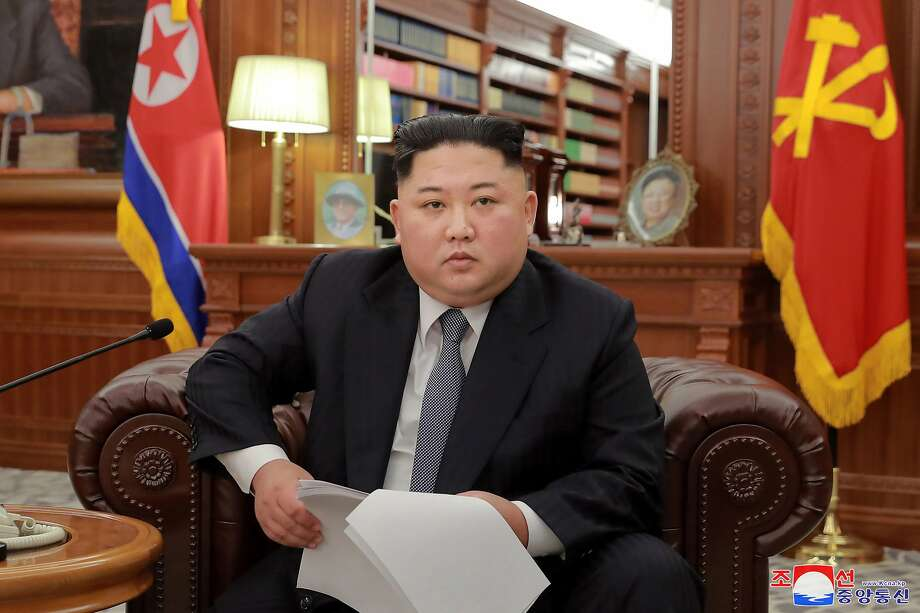 Kim Jong Un's visit to China comes after he expressed frustration with Washington. Photo: Associated Press