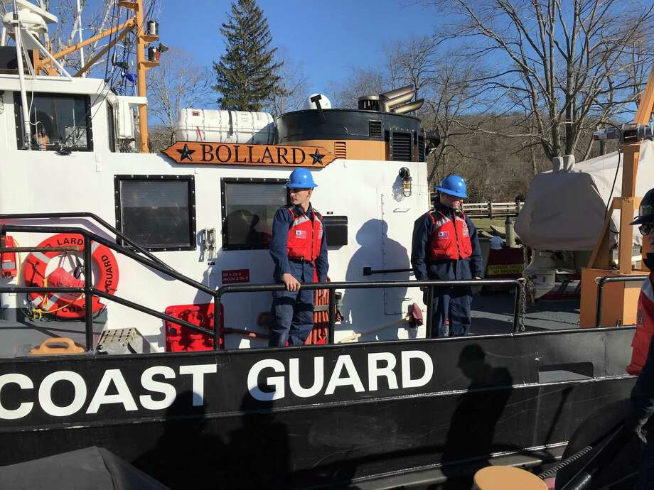 U.S. Sen. Richard Blumenthal took a ride on the U.S. Coast Guard Cutter Pendant in January 2018, departing from Goodspeed Landing in East Haddam. The plan was to head upriver toward Middletown but the East Haddam Swing Bridge was having mechanical problems which diverted traffic on the Connecticut River and over the span itself. Photo: / Cassandra Day, Hearst Connecticut Media