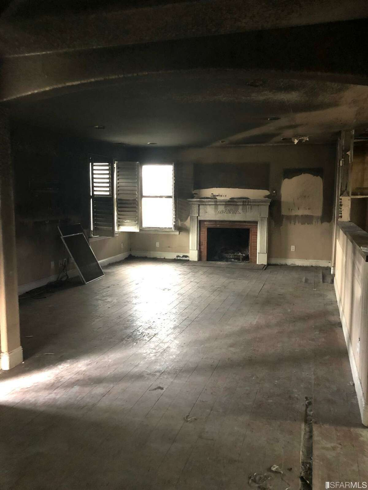 A fixer-upper at 1180 Alameda in San Carlos suffered an accidental kitchen fire and is on the market for $1.6 million.