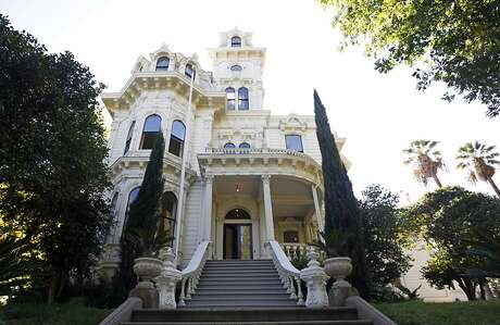 The governor's mansion in Sacramento — new home of Gov. Gavin Newsom and his family. Photo: Rich Pedroncelli / Associated Press