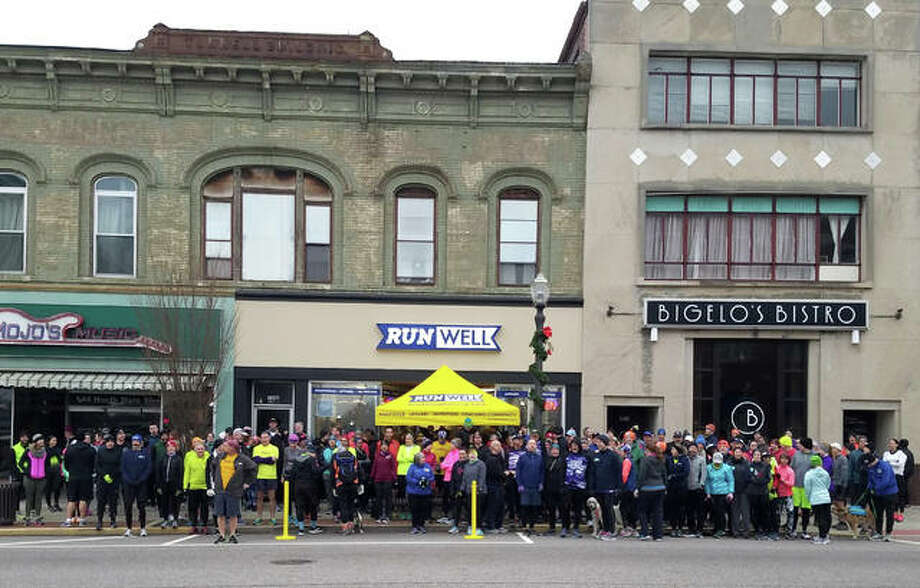 Nearly 400 runners and walkers participated in RunWell's Resolution Run on New Year's Day. Following the event, the store offers several ways to keep the momentum going, including classes centered on running and nutrition. Photo: For The Intelligencer