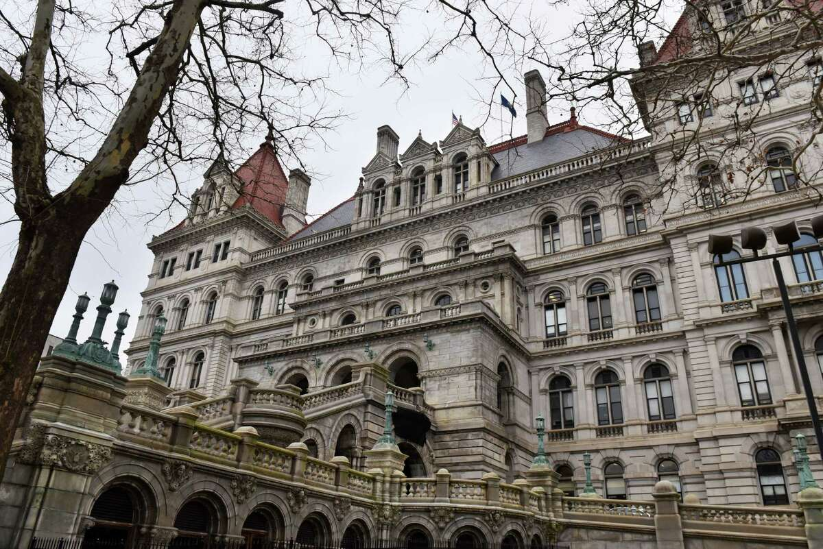 Legislation is making its way through the Capitol that would enable state regulators to crack down on delinquent public authorities. (Will Waldron/Times Union)