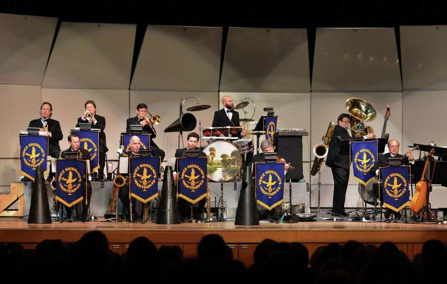 Vince Giordano & the Nighthawks will perform as part of the Peterson Concert series at the Cole Auditorium of the Greenwich Library from 3:30 to 5 p.m. Jan. 13. Renowned for preserving the authentic style of 1920-30s jazz and popular music, Vince Giordano and the Nighthawks have been performing for more than four decades. Doors at 3 p.m. Photo: Contributed Photo /