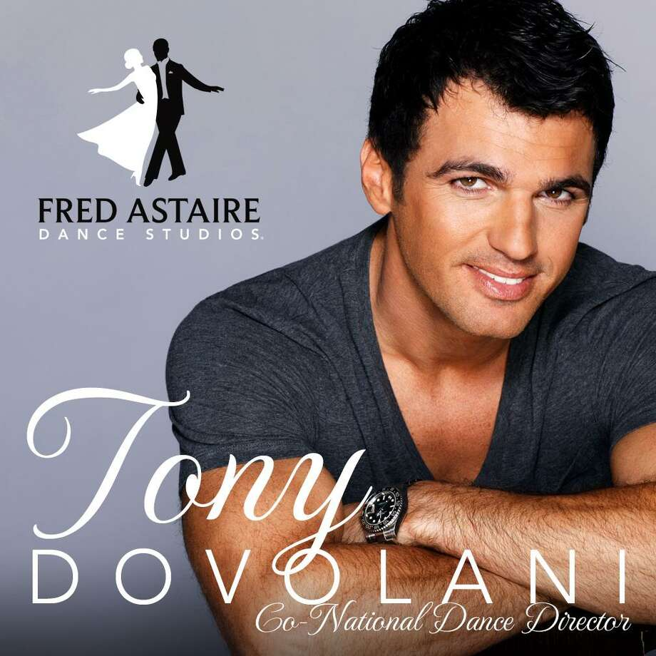 "Middletown's Fred Astaire Dance Studio will welcome world-renowned dancer Tony Dovolani, known for his appearances on ""Dancing With the Stars,"" Jan. 14 when he conducts free dance lessons. Photo: Contributed Photo"