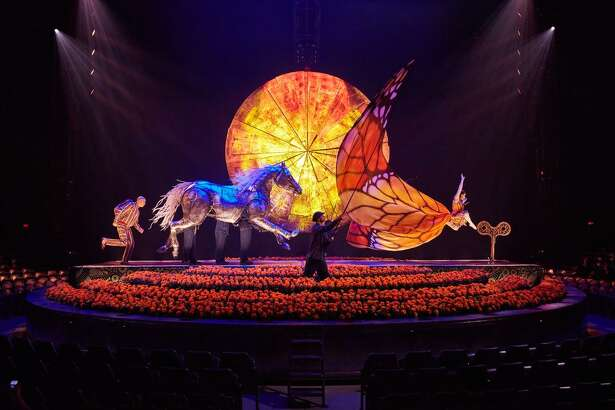 """Cirque Du Soleil's production """"Luzia,"""" comes to Sam Houston Race Park."""