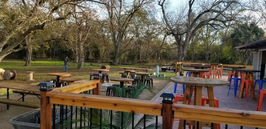 The Aquaduck Beer Garden, at 9214 Espada Road, has been open since Dec. 22, but will host a grand opening on Jan. 12. Photo: The Aquaduck Beer Garden