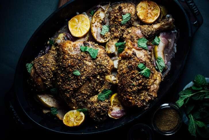 Roast chicken by Nik Sharma