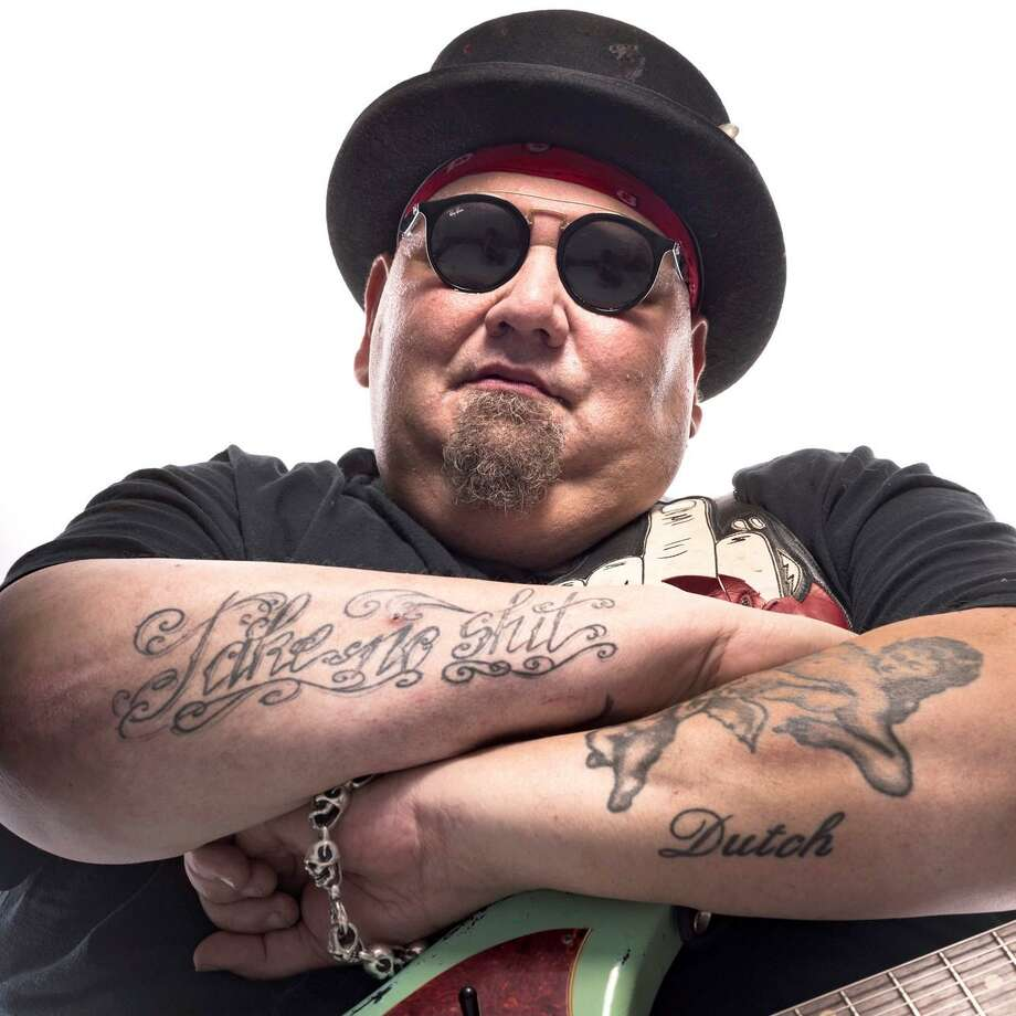 Guitarist Popa Chubby, born Ted Horowitz, is set to perform at the Katharine Hepburn Cultural Arts Center in Old Saybrook Saturday, Jan. 12. Photo: Contributed Photo