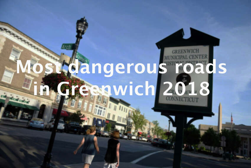 >>Click through to see which roads are the most dangerous in Greenwich. Source: UConn Connecticut Crash Data Repository