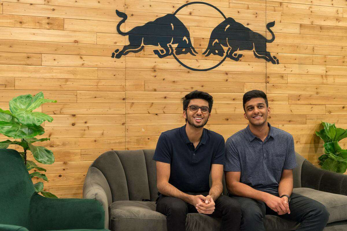 From left, Tanuj Girish, chief technology officer for Hitch, and Kush Singh, CEO of Hitch.