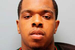 This photo provided by the Harris County Sheriff's Office in Houston shows Larry D. Woodruffe. The Harris County Sheriff's Office said the 24-year-old Woodruffe was charged Tuesday, Jan. 8, 2019, with capital murder in the Dec. 30 slaying of 7-year-old Jazmine Barnes. (Harris County Sheriff's Office via AP)