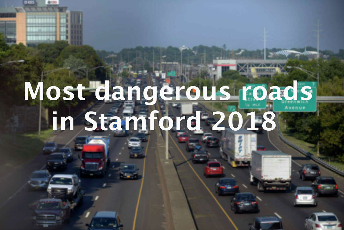 >> Click through to see which roads are the most dangerous in Stamford. Source: UConn Connecticut Crash Data Repository