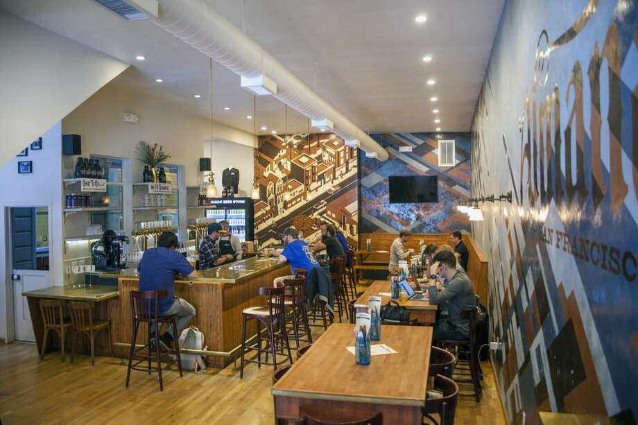 Alamnac's Mission District taproom. Photo: Almanac Beer Co.