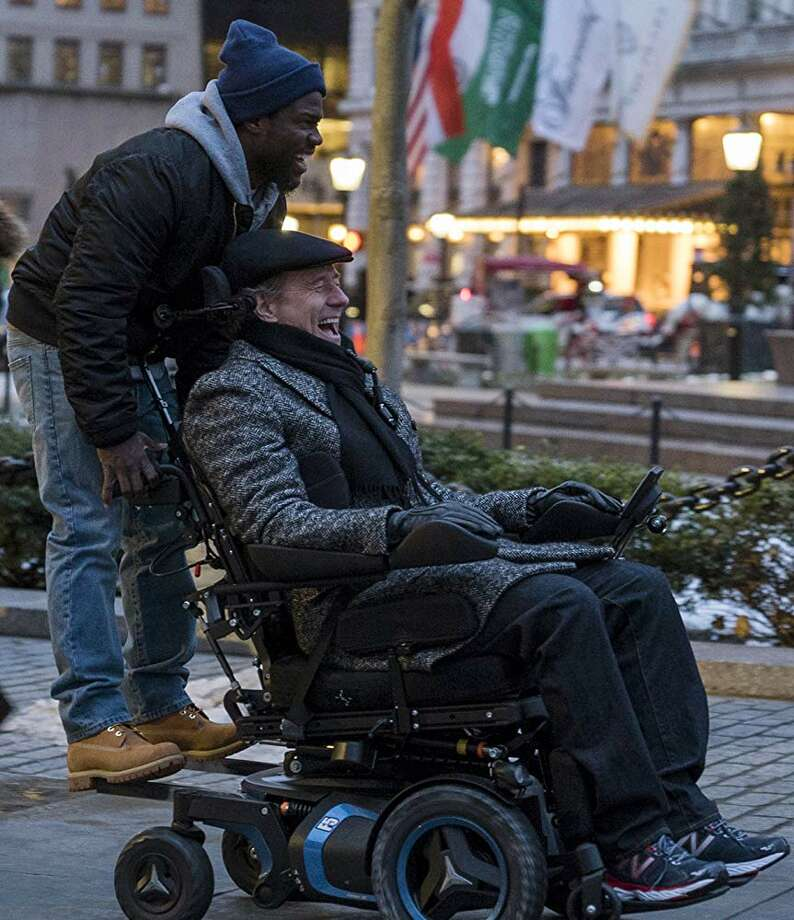 Kevin Hart and Bryan Cranston in 'The Upside' Photo: STX Entertainment