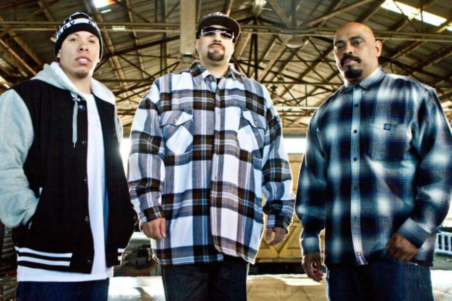"LOS ANGELES, CA- JANUARY 23, 2010: -EXCLUSIVE-  Cypress Hill on set of Cypress Hill's music video titled ""It Ain't Nothin"" in Los Angeles, CA  on January 23, 2010 ( Photo by Adrian Sidney / PictureGroup ). Photo: Adrian Sidney, Adrian Sidney  / 2010 Adrian Sidney"