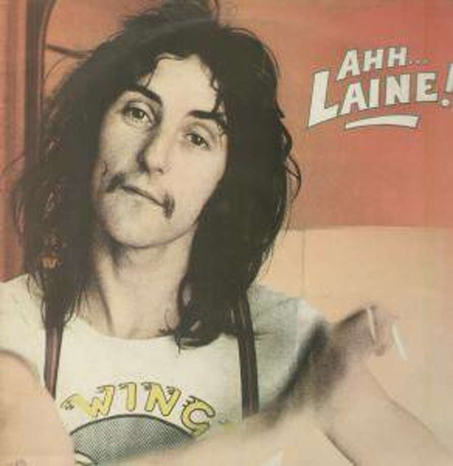 "Laine's first solo album, ""Ahh… Laine!"" Photo: Used By Permission From Denny Laine