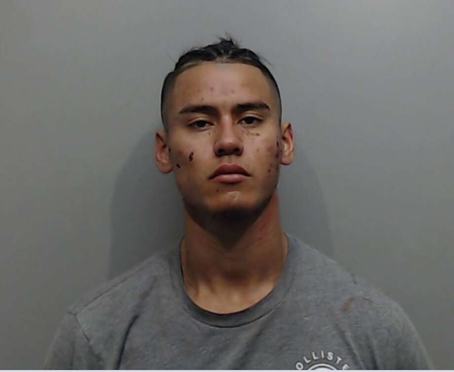 Korey Aleman, 23, was arrested on multiple charges after a shooting on New Year's Day in San Marcos. Photo: Hays County Jail