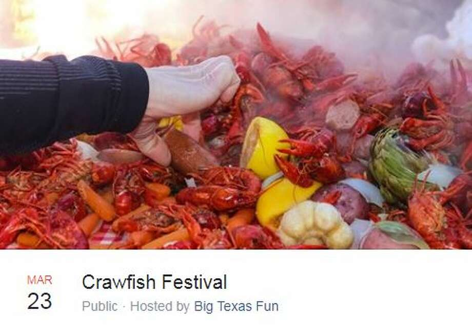 Big Texas Fun has announced the dates of the 2019 Crawfish Festival in Selma. Photo: Facebook Screengrab