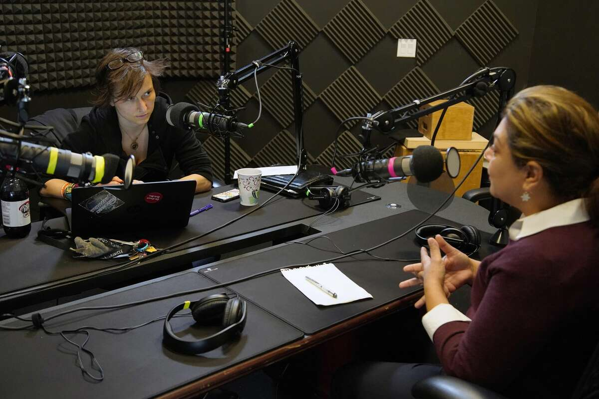Houston Chronicle reporter Keri Blakinger interviews Judge Elsa Alcala for an episode of Behind the Walls, a Houston Chronicle podcast on prison and criminal justice.