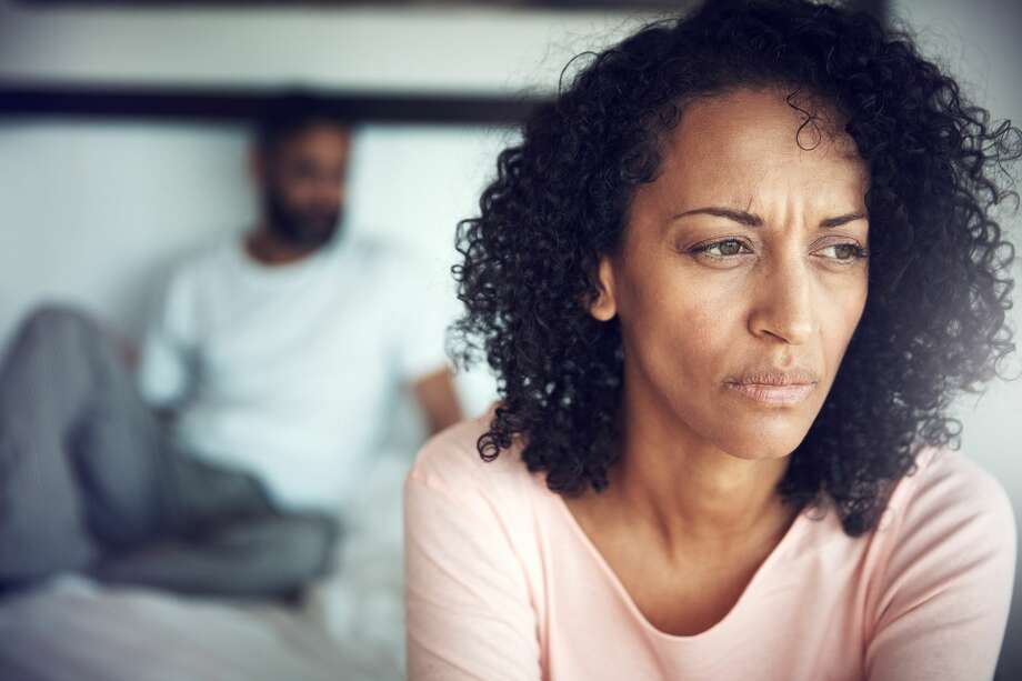 A woman found a pair of lacy underwear in her bed that don't belong to her. Now, she doesn't know how to approach the situation and mention it to her husband. Photo: Laflor/Getty Images