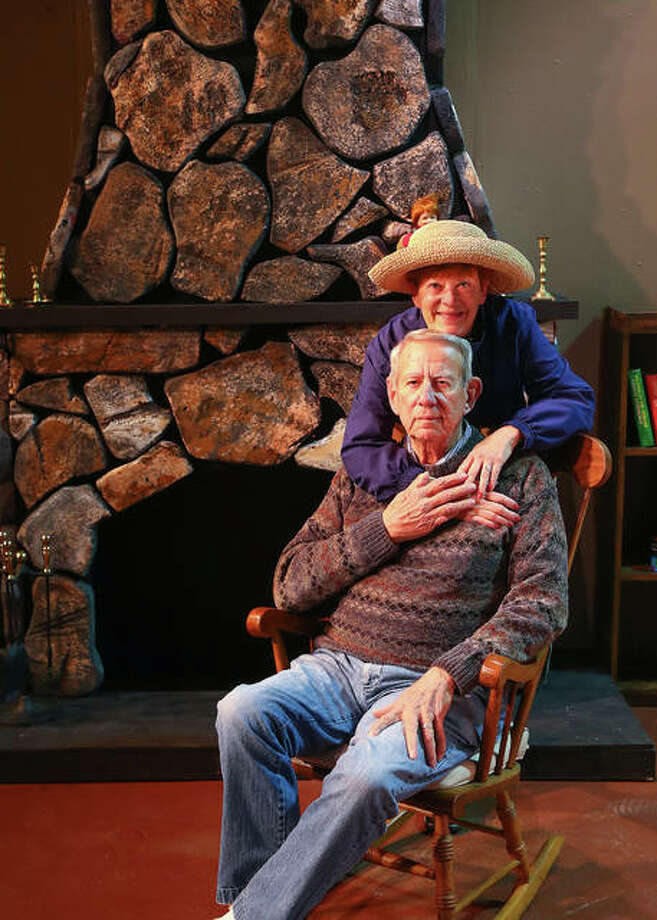 "Diana Enloe and Joe Laffler will appear as Ethel Thayer and Norman Thayer, Jr. in Alton Little Theater's production of ""On Golden Pond,"" Jan. 18 through 27. Photo: Pete Basola 
