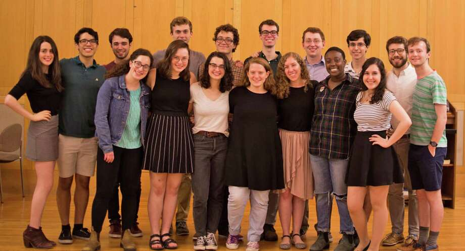 The members of a capella group Magevet will perform concerts at two synagogues on Jan. 18 and 19. Photo: Congregation Beth Israel / Contributed Photo