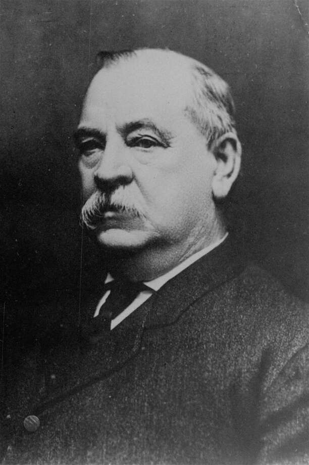 """An undated portrait of two-time U.S. president Grover Cleveland, whose opponent in 1884, James G. Blaine, was hit with the taunt, """"Blaine, Blaine, James G. Blaine the Continental Liar from the State of Maine."""" Photo: Associated Press / NY PUBLIC LIBRARY"""
