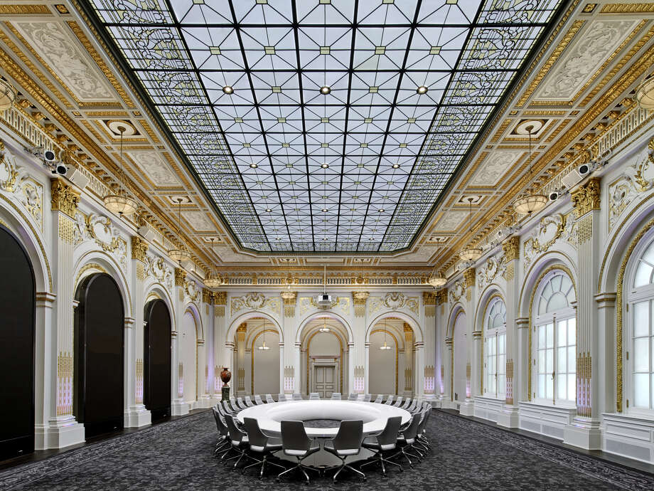 "Lauren Rottet and Rottet Studio have won a ""Best of Year"" award from Interior Design magazine for their renovation of the New York Stock Exchange. Photo: Courtesy Of Rottet Studio"