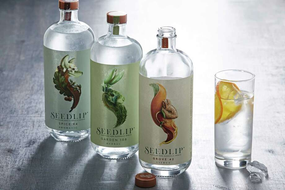 Seedlip is unsweetened, calorie-free and sold in bottles whose gorgeous labels look at home in the fanciest of bars. Photo: Photo By Tom McCorkle For The Washington Post. / The Washington Post