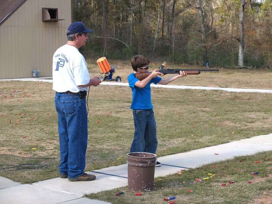 The modern shotgun makes shooting sports available to all, as this youngster demonstrates. Photo: Larry J. LeBlanc