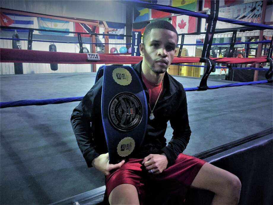 Oak Ridge graduate Michael Angeletti won the Elite Men 114-pound division at the USA Boxing National Championships in December. Photo: Jon Poorman