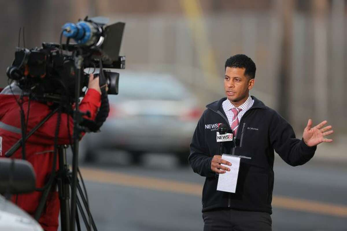 Jason Newton, spokesman for Rep. Jahana Hayes, previously worked at WTNH as an on-air reporter from 2014 to 2017.