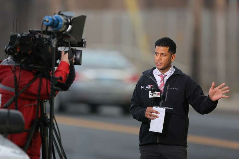 Jason Newton, spokesman for Rep. Jahana Hayes, previously worked at WTNH as an on-air reporter from 2014 to 2017. Photo: Contributed Photo / Contributed Photo / Connecticut Post Contributed