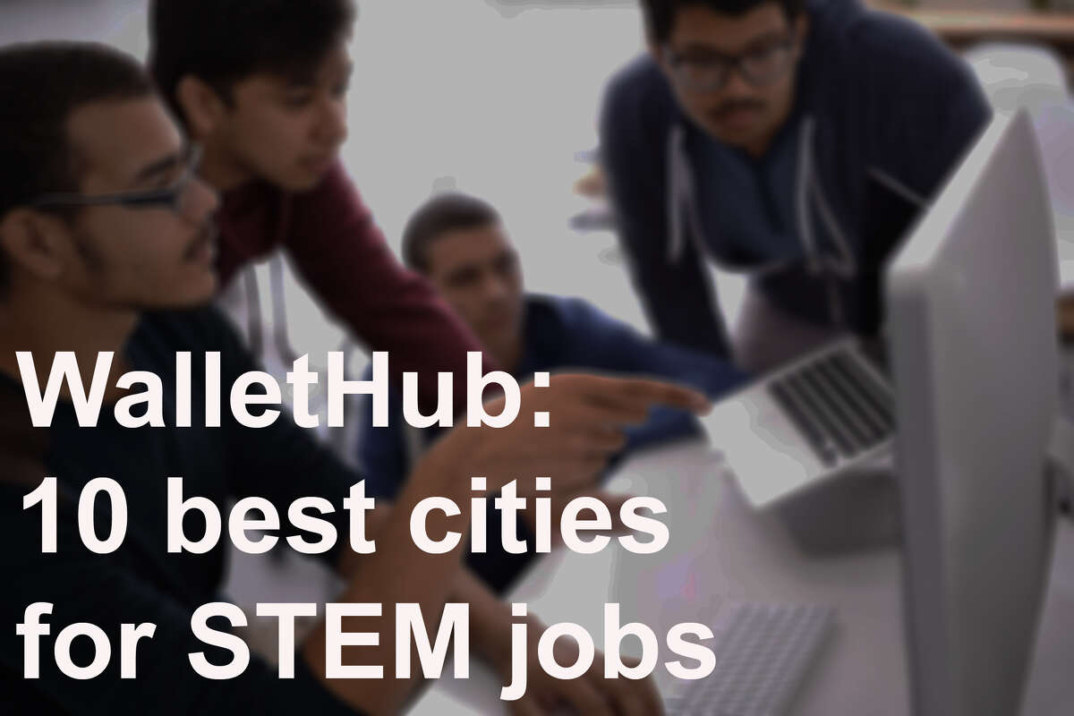 Click through for the 10 best cities for STEM jobs, as decided by WalletHub -- plus a few other Northwest cities that made the top 50.