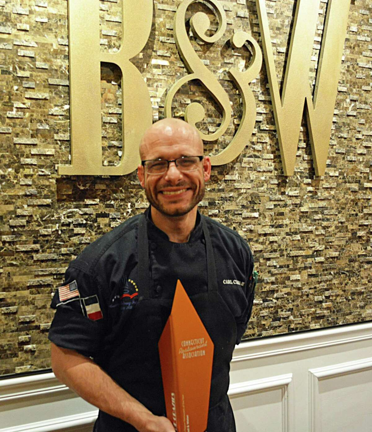 Carl Ciarcia Jr., chef/owner of Middletown's Bread & Water restaurant on Warwick Street, won the Connecticut Restaurant Association's South Region Restaurant of the Year last month.