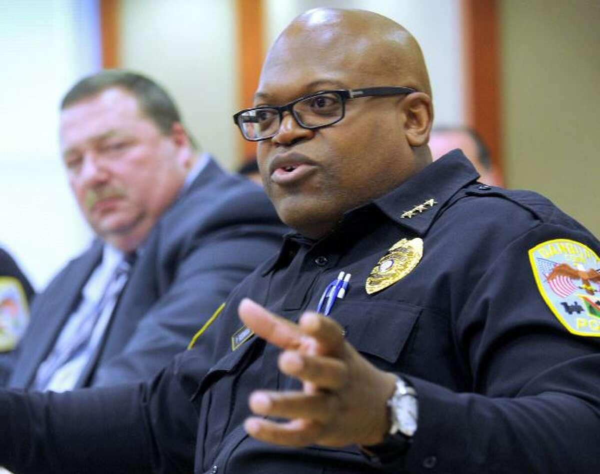 Danbury police Chief Patrick Ridenhour