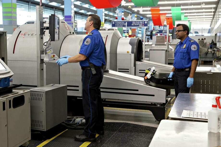 Transportation Security Administration agents aren't getting paid, though they're on the job. Closed are the federal agencies that help those whose identities have been stolen. Photo: Daniel Acker /Bloomberg / © 2019 Bloomberg Finance LP