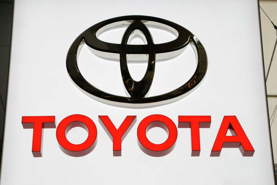 FILE- In this Feb. 15, 2018, file photo the Toyota logo displayed at the Pittsburgh Auto Show. Toyota is recalling 1.7 million vehicles in North America to replace potentially deadly Takata front passenger air bag inflators. The move announced Wednesday, Jan. 9, 2019, includes 1.3 million vehicles in the U.S. and is part of the largest series of automotive recalls in the nation's history. (AP Photo/Gene J. Puskar, File) Photo: Gene J. Puskar / Copyright 2018 The Associated Press. All rights reserved.